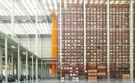 El nuevo almacén mide 7.000 m2 y tiene capacidad para más de 65.000 palets
