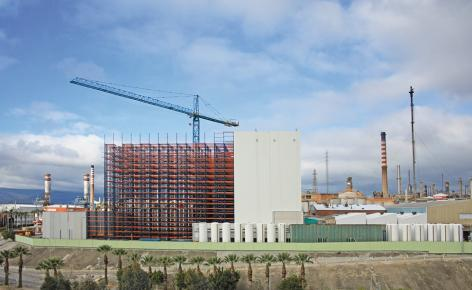 Mecalux construye para Cepsa un almacén automático de 37 m de altura con capacidad para más de 28.000 palets