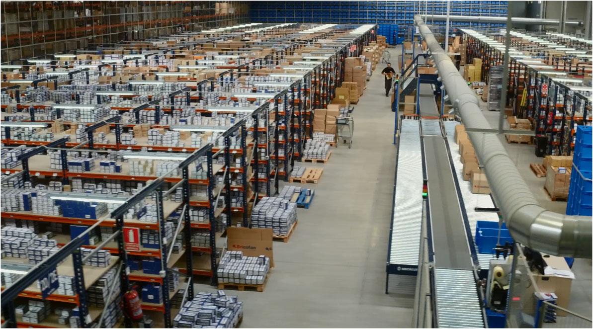 Nuevo centro logístico para Cofan