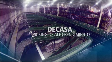 DECASA: Almacenamiento y picking de alto rendimiento