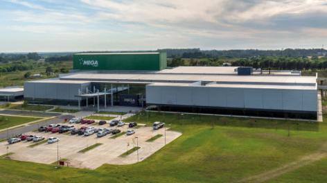 Mega Pharma se posiciona a la vanguardia tecnológica con un almacén autoportante completamente automático