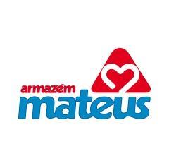 Gran capacidad de almacenaje en el centro de distribución de Armazém Mateus en Brasil