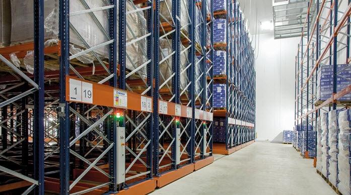 Cárnica Batallé instalará estanterías sobre bases móviles Movirack en tres cámaras de congelación