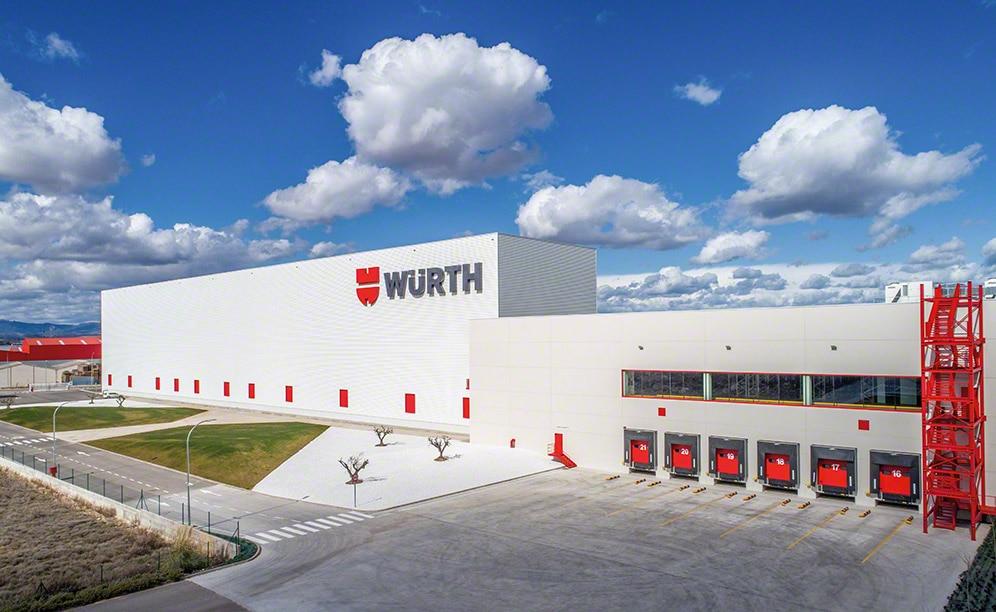 Almacén autoportante automático de Würth España