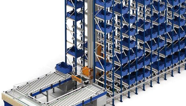 Las piezas mecanizadas de Project se alojarán en un nuevo almacén de cajas de 35 m de longitudv