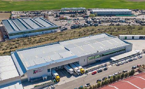 Máxima capacidad y rentabilidad en el almacén automático frigorífico de Cárnicas Chamberí