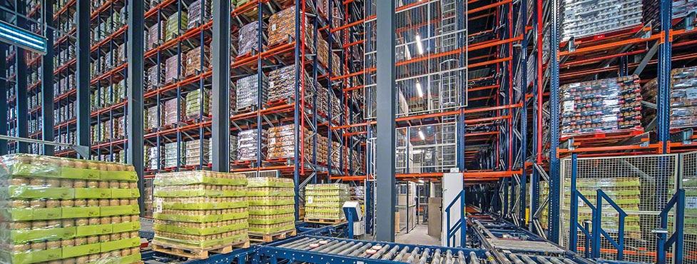 Gestión eficiente de las legumbres en conserva de Cistér con un nuevo almacén